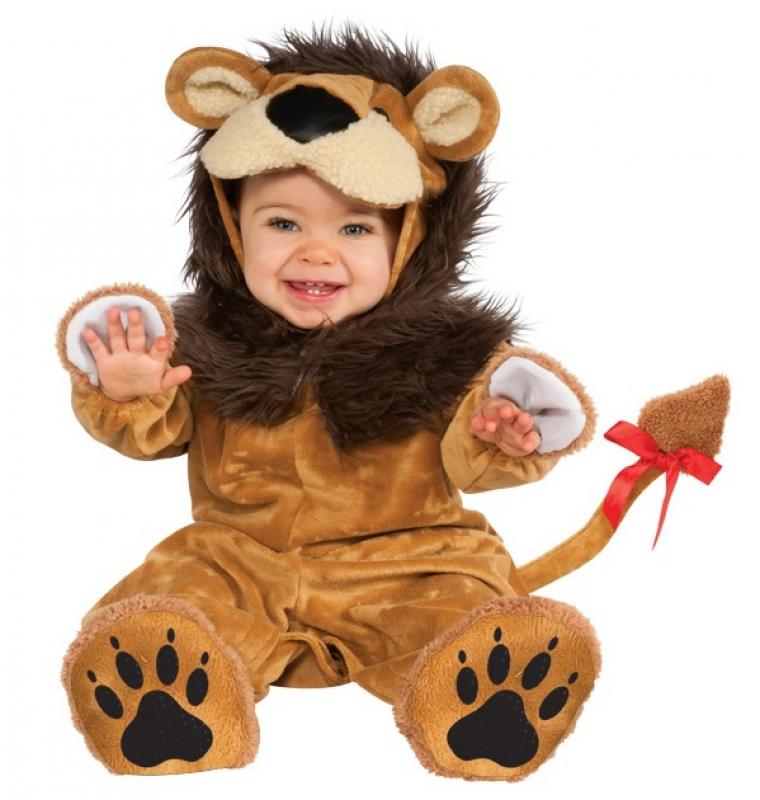 leon bebe con carita. DISFRACES BEBE