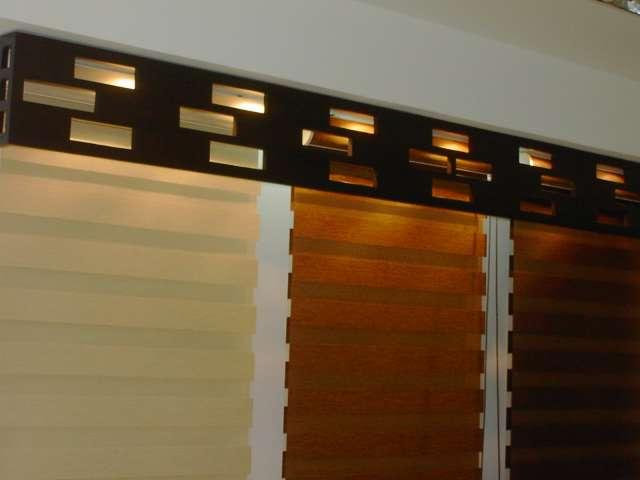 Vertical interior guayaquil almacenes de cortinas for Ganchos para cortinas de madera